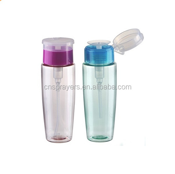 Non spill 33/410 Plastic nail polish remover dispenser pump