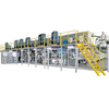 Automatic pampers making machine baby diaper manufacturing machine