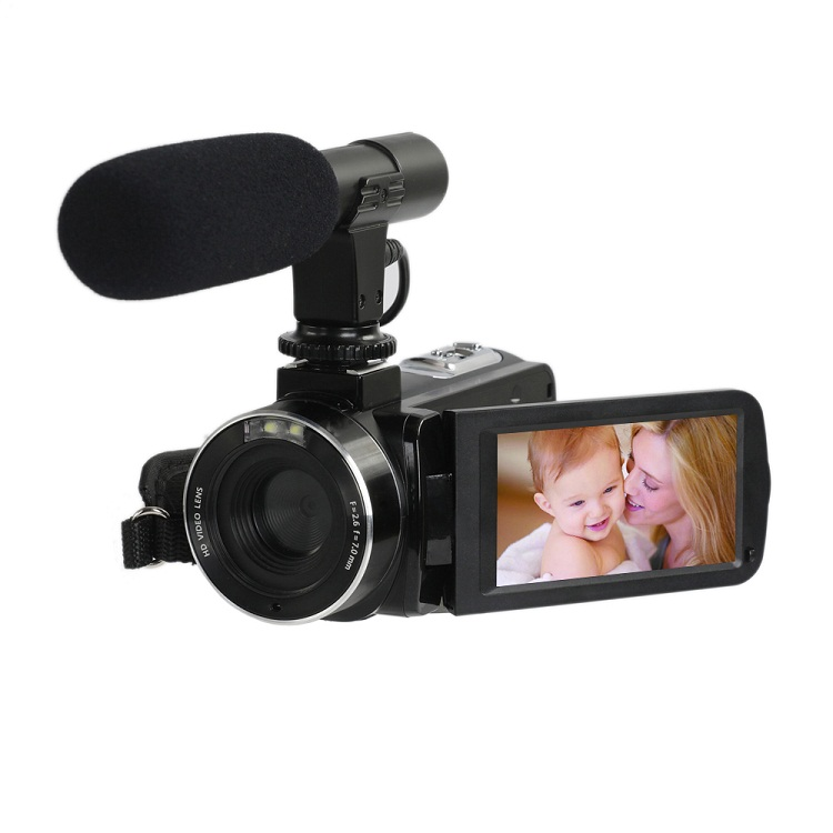 2.7K FHD DV 3.0 Inch IPS Touch Screen <strong>Video</strong> Camera Recorder 18x Digital Zoom HDMI output