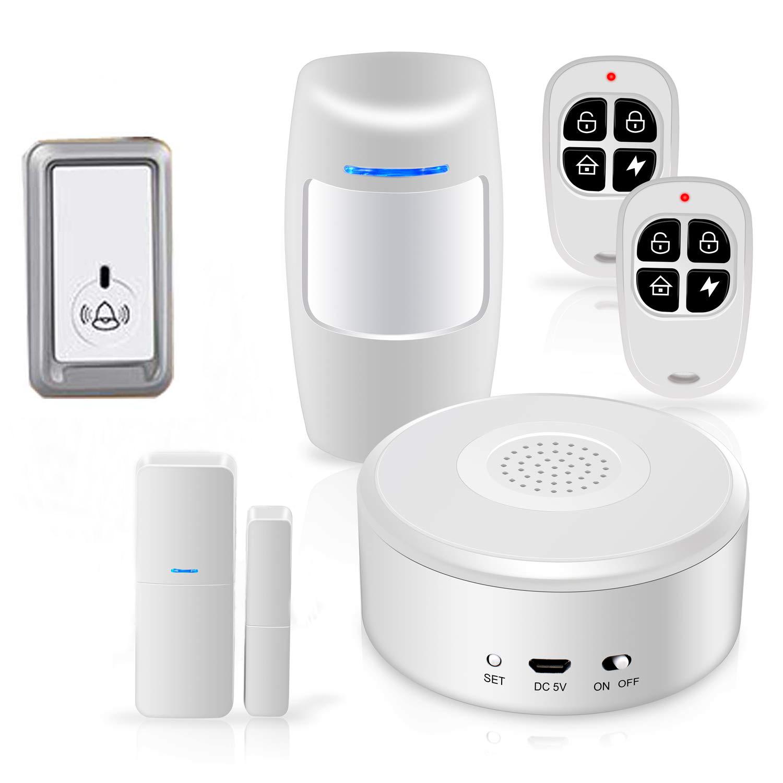 Barato wifi inalámbrico sistema de seguridad de la casa intruso casa mejor sistema de alarma antirrobo