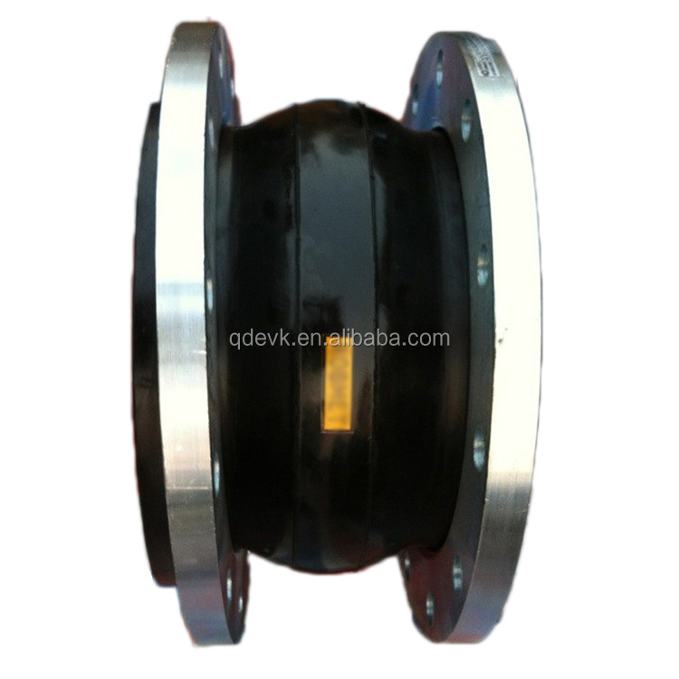 PN16 NBR Single Sphere Flexible Rubber Joint
