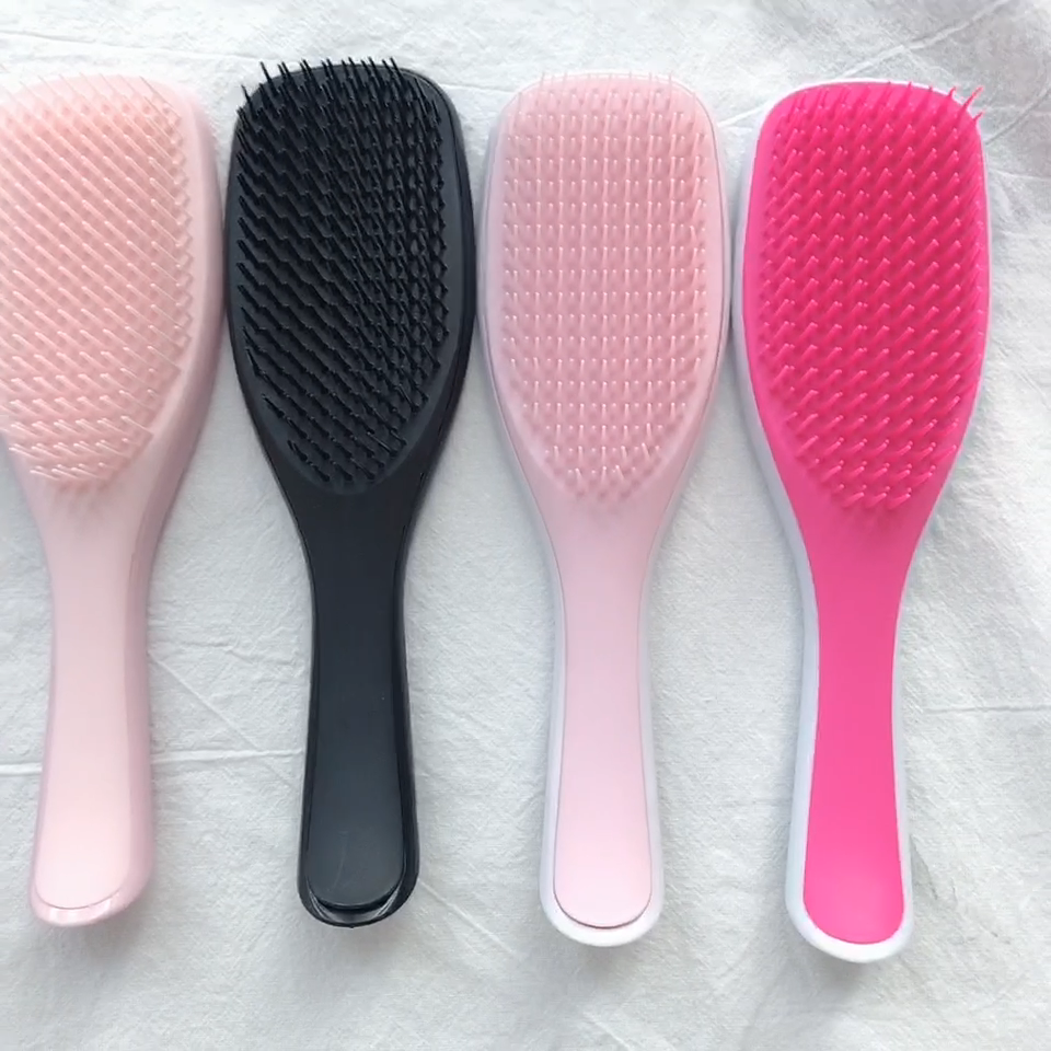 High Quality Guarantee Women Professional Detangling Hair Brush for Afro America 3a to 4c Kinky Wavy Curly Coily