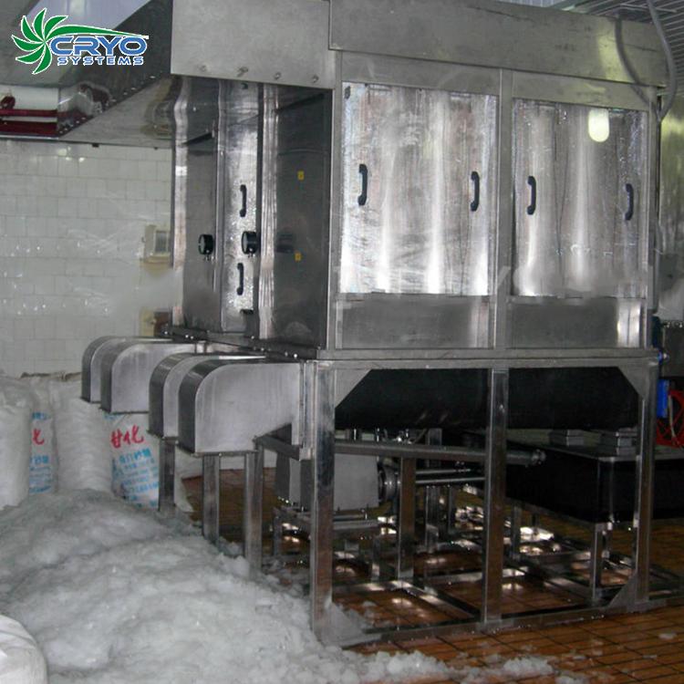 เครื่องทำน้ำแข็งโคลน/เครื่องทำน้ำแข็งบนBorad Ice Slurry Machineสำหรับการเก็บรักษาปลา