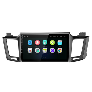 Android8.1 interface auto radio gps navigatie bt usb voor RAV4 2012