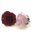 hot sale 6 layers rose petal wedding soap flower heads