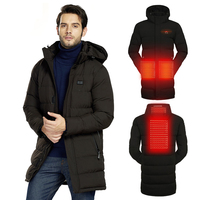 Usb Heating Electric Jacket Mens Winter Heated Jacket Coat