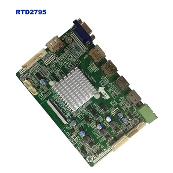 RTD2795 4096x2160  3840x2160 5K 4K HDMI to eDP V-by-One controller board compatible with 2560x1440 120Hz B173QTN01.0