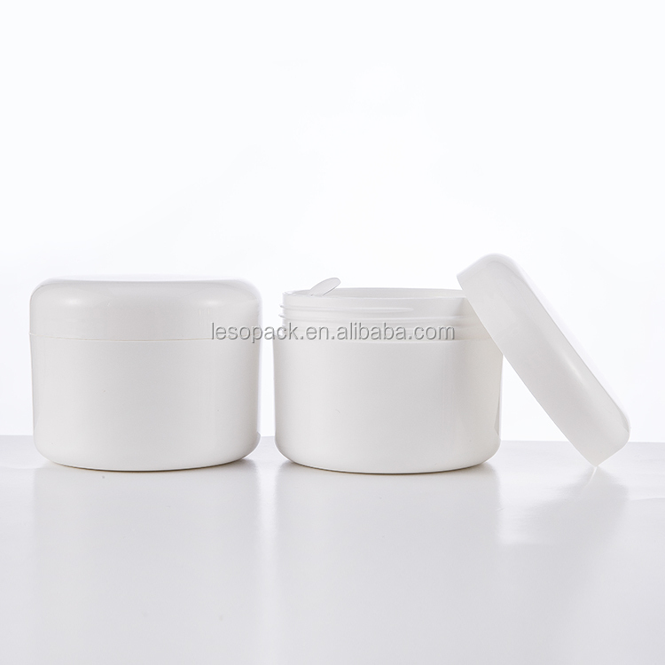 Manufacturers Hot Selling  Opal White Cosmetic Jar with Urea Bakelite White Lid