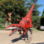 most popular adult realistic dinosaur costume trex