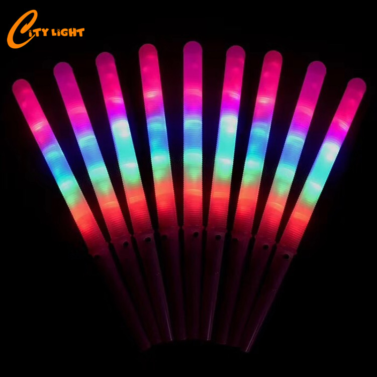 Hot Selling 2019 colorful led cotton candy stick for party festival