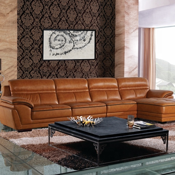Vintage Leather Sofa Sectional