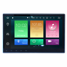 10.1 นิ้ว 1 DIN รถ Android 9.0 Universal DVD Player 4 + 64G Bluetooth Autoradio GPS นำทางระบบ