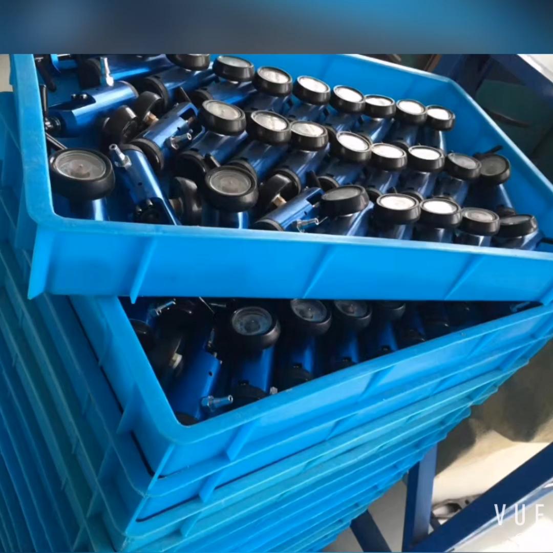 Équipements médicaux CGA870 aluminium régulateur de pression d'oxygène médical pour bouteille d'oxygène