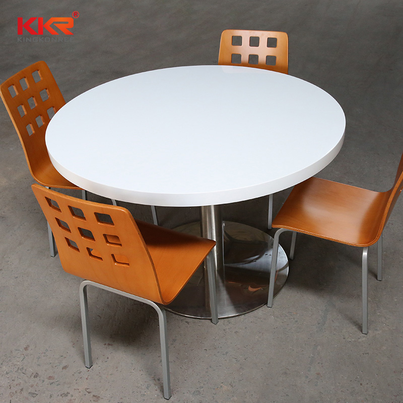 Round Table Top With One Leg In High Kitchen Table And Chairs
