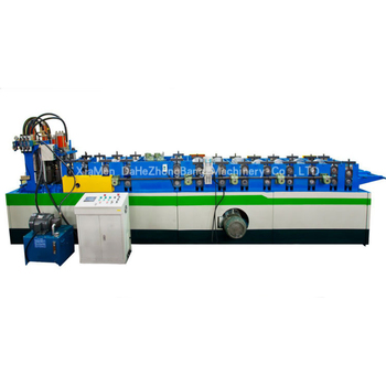 Dahe SX10 top selling cheap CZ interchanging multi-size purlin roll forming machine automatic size changing C to Z