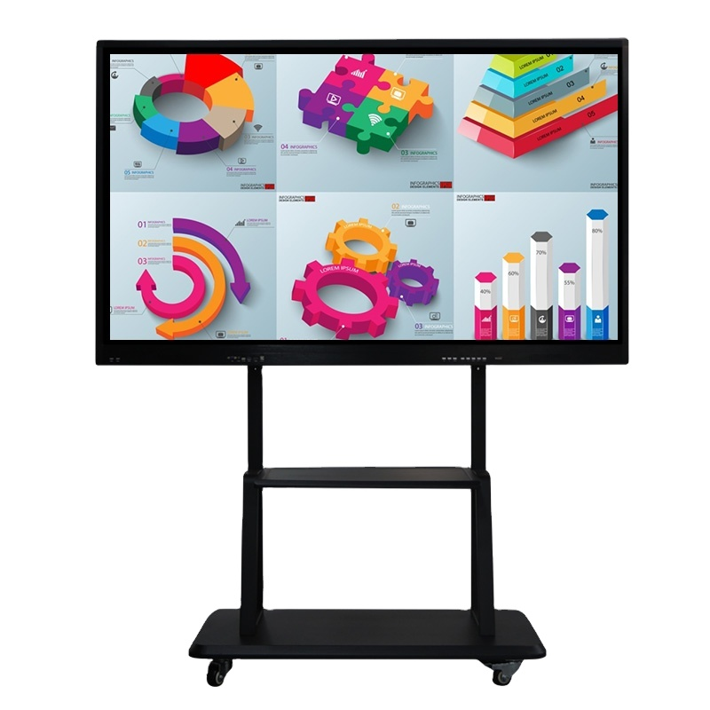 weier Multimedia 65 Interactive Touch Panel Smart White <strong>Board</strong> for School Education Conference <strong>All</strong>-In-One Touch Machine