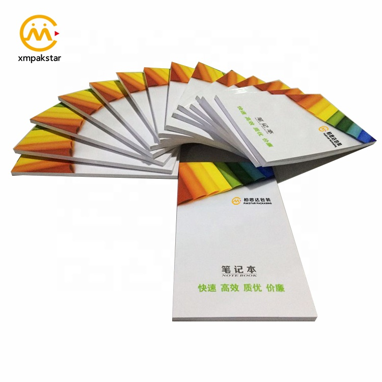 Wholesale cheap custom offset printing small size coloring pocket book notebook for student