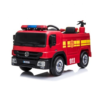 Fire fighting truck ride on kids electric car ride on toys car for kids to drive