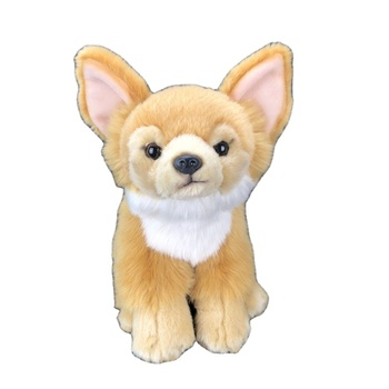 Custom luxury quality real stuffed animals wholesale soft dog plush toy realistic