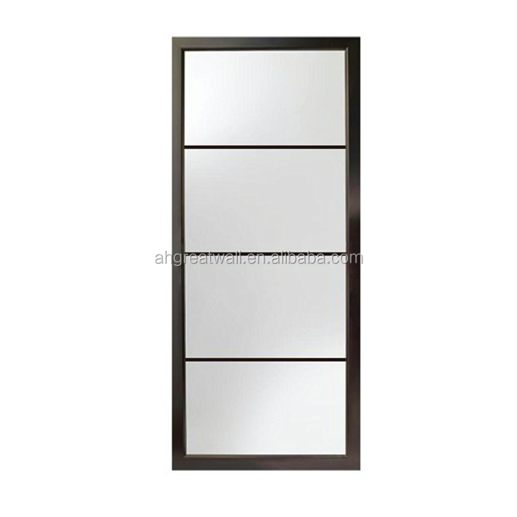 China exterior and interior use frameless 36 x 77 screen energy efficient folding sliding glass doors