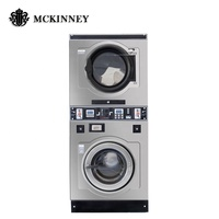 Commercial laundry coin operated washing machine and dryer 10kg to 28kg