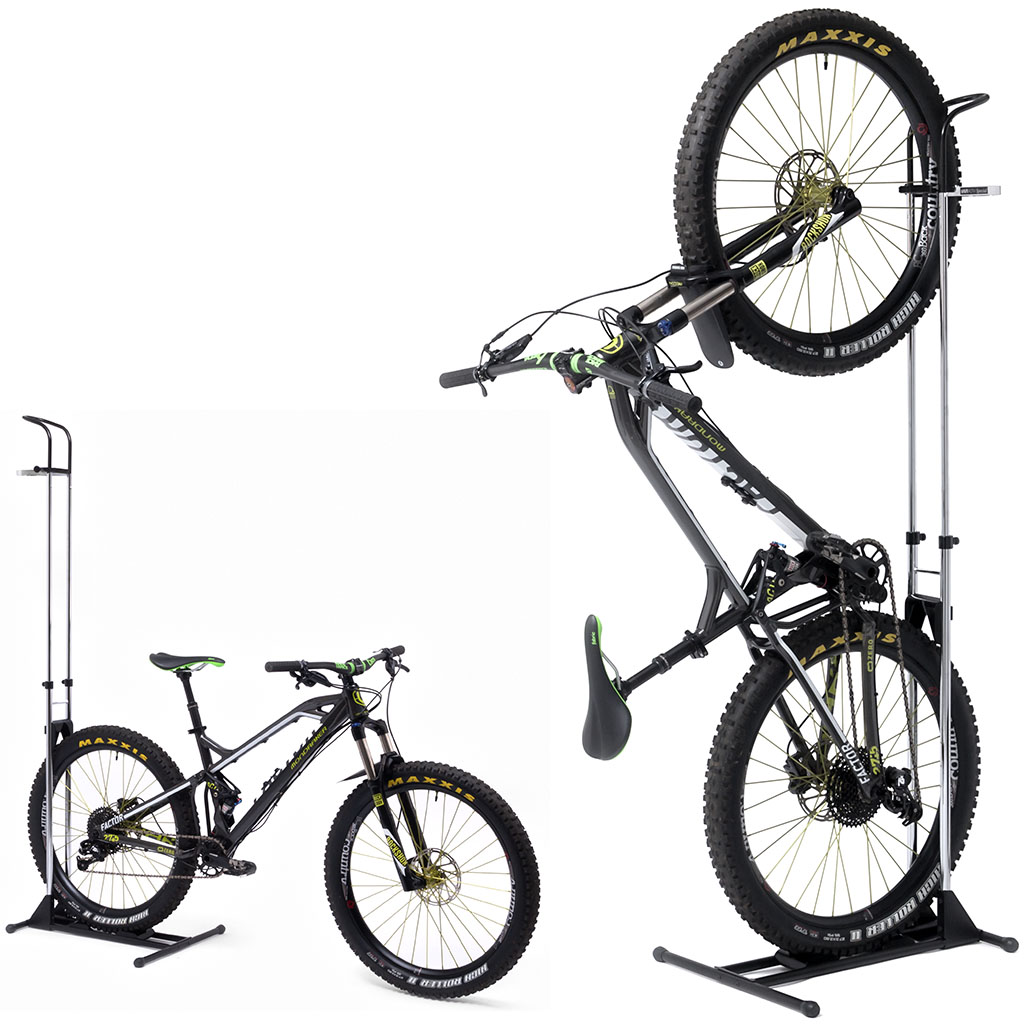 High Quality Space Saving Indoor Display Bicycle Rack From Japan