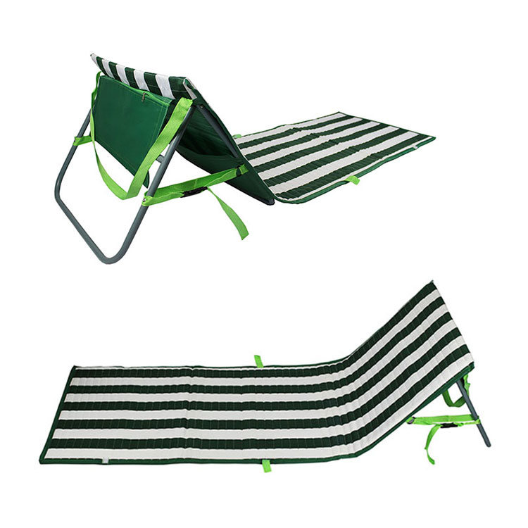 EVA Foam Backrest Outdoor Beach Lounge Chairs Camping Portable Foldable Beach Mat