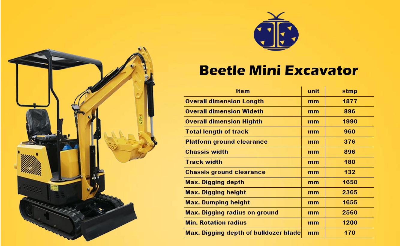 Alta calidad micro digger concretas interruptor pequeña excavadora para la venta