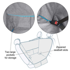 Pet Accessories Waterproof Durable Pet Dog Hammock Car Seat Cover for Back Seat