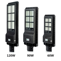 Solar motion sensor light IP65 Outdoor solar led garden lamp
