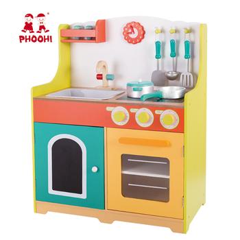 Cooking Set Children Wooden Kitchen Toy
