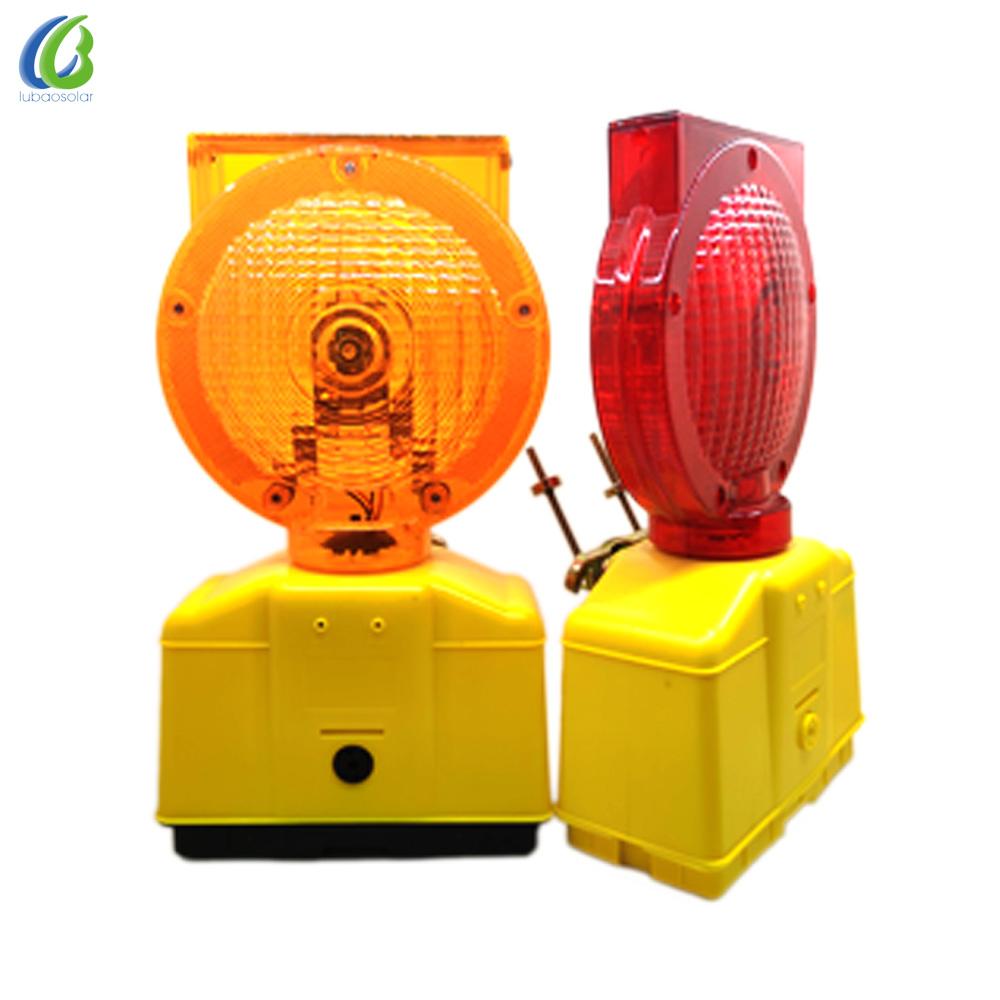 Clignotant A Mené La Lumière D'avertissement De Construction de Route Clignotant Lumière De Sécurité