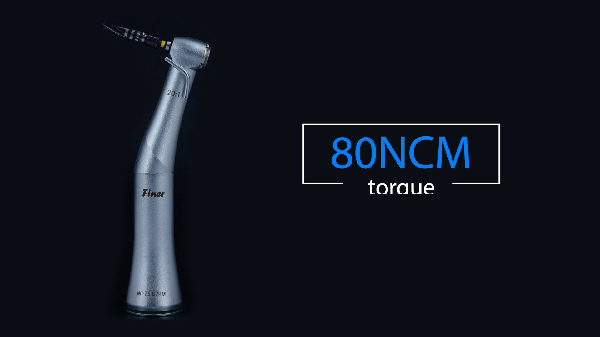 Dental implant handpiece 20:1 contra angle compatible with implant system