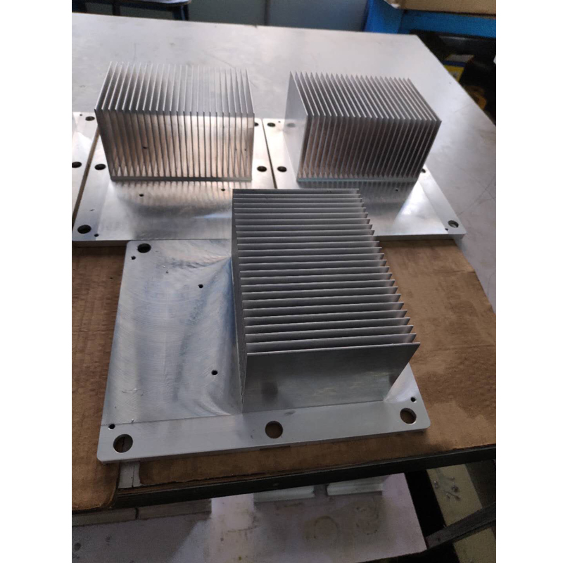 Cnc milling service OEM customized extruded aluminium die casting heat sink Cheap