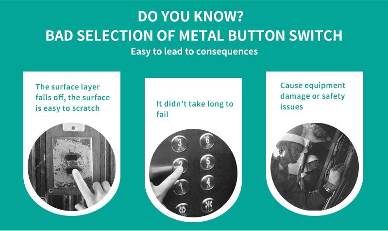 Interrupteur bouton-poussoir verrouillage momentané, bouton-poussoir de 10mm, 8mm, 10mm, 12mm, 16mm, 19mm, 22mm, 25mm, 28mm, 30mm