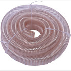 Flexible PU ventilation vacuum duct hose PU suction hose