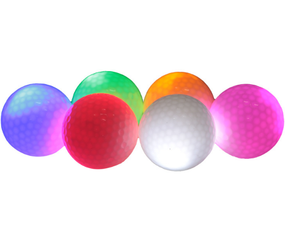 Wholesale 2 3 4 5 pieces branded used golf balls golf practice training ball with logo