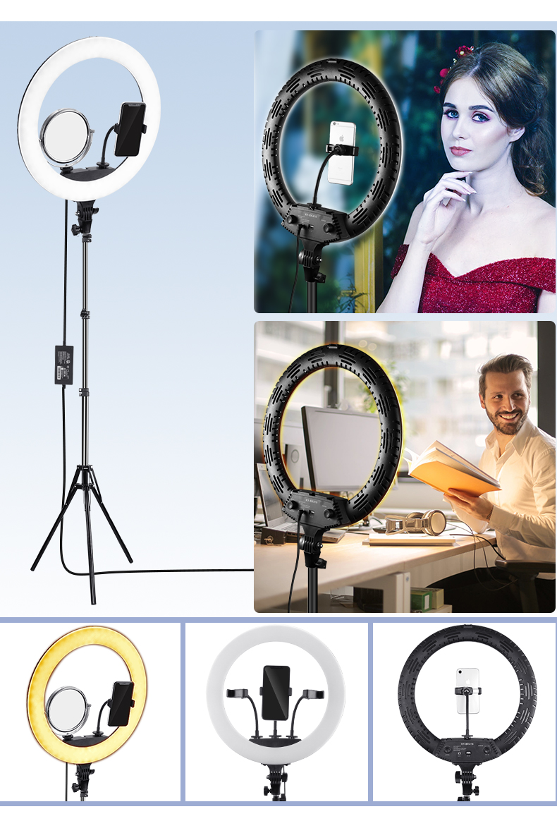 Hot Selling Ring light 18 inch Led Circle Ring Light Including Ring Light Tripod 65W