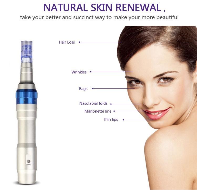 2019 Newest Wireless Derma Pen Dr Pen Powerful Ultima A6 Microneedle Dermapen Meso Rechargeable Dr pen Derma Rolling