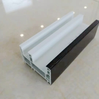 80mm plastic extruded upvc window profile