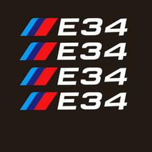 Aliauto 4 X автомобильные шины и обода Стикеры наклейка Аксессуары для BMW 1 3 5 серии X1 X3 X5 X6 M3 M5 E30 E34 E36 E39 E46 E60 E90(Китай)