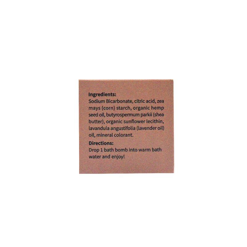 Пользовательский логотип органический натуральный конопли КБР масло для ванной бомба подарочный набор