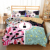 Queen Size High Quality Modern Style Home Use Bedding Linen Set Duvet Cover Set