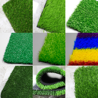 cheap prices china chinese soccer yarn green panels wall football carpet mat sports flooring synthetic turf artificial grass
