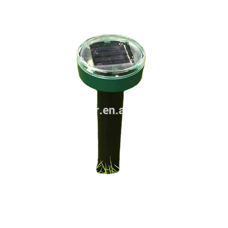 Amazon Heiße verkäufe Solar Powered Ultraschall Sonic Maus Mole Pest Nagetier Repeller Abweisend Hof FÜHRTE Licht Repeller Outdoor Lampe