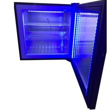 Tavolo Mini Porta <span class=keywords><strong>In</strong></span> Vetro Bar Pesce Display Freezer Con 55 Litri