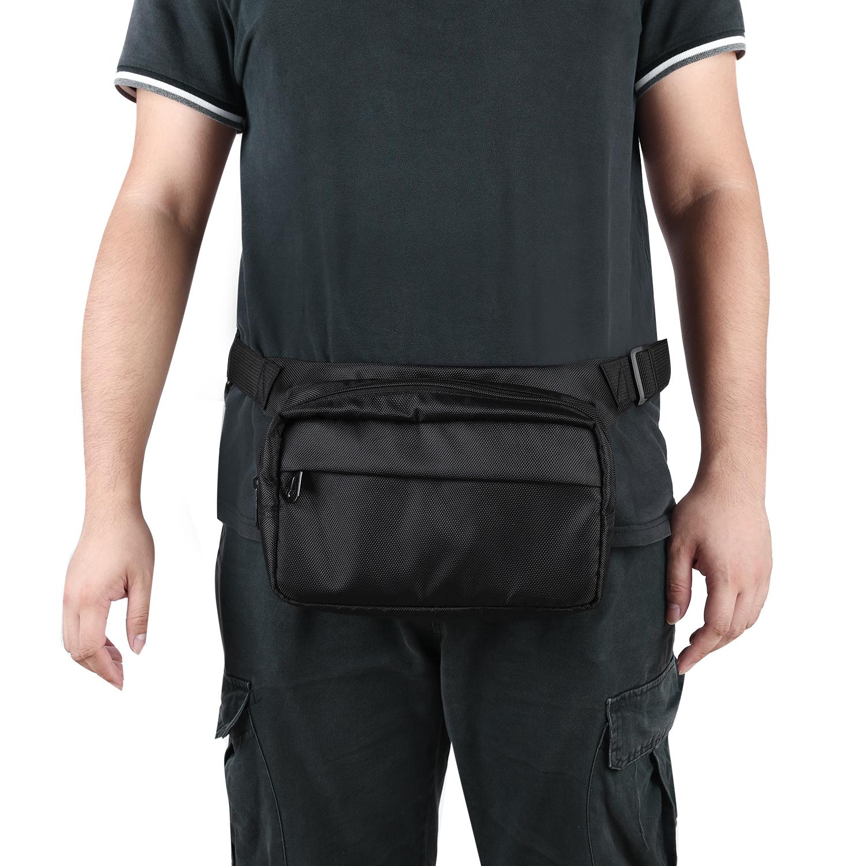 Factory Price Unisex Men And Women Large Fanny Pack Custom Crossbody Chest Cross Shoulder Big Waist Bag Bum Bag With Zipper