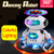 Customizable 360 Degree Rotating Electric Dancing Robot Walking Smart Space Robot with Light Music