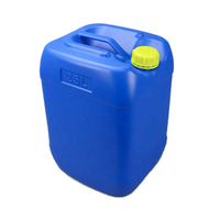 25L Chemical drum 25kg square flat universal container hdpe plastic barrel