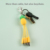 Custom 3in1 charger cable Supermarket products shape 4in1 type-c mirco Pineapple usb 8pin multi function keychain